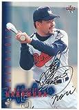 BBM 2001 プロ野球カード 494 [黒サイン] 中村 紀洋