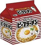 日清 ビーフラーメン 5食パック 455g ×6袋