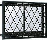 YKKAP窓まわり 面格子 ラチス面格子2LA:[幅840mm×高850mm] [H2]プラチナステン