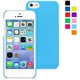 英国Snugg製 iPhone 5 / 5S 用 スリムケース - 生涯補償付き(ベビーブルー)
