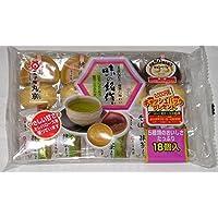 丸京製菓 18個 味の銘作 8入