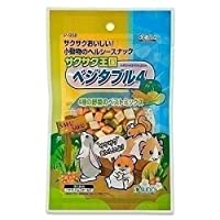 (まとめ買い)スドー 小動物のおやつ サクサク王国 ベジタブル4 26g P-938 【×10】