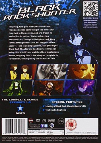 ブラック★ロックシューター コンプリート DVD-BOX (全8話, 300分) アニメ [DVD] [Import] [PAL, 再生環境をご確認ください]