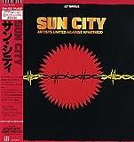 "SUN CITY -ARTISTS UNITED AGAINST APARTHEID  サン・シティ  [12"" Analog LP Record]"