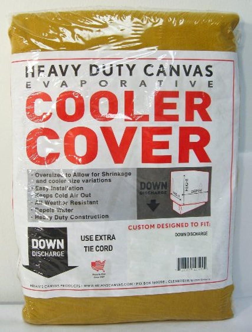 汚れたレトルト完璧42 in. x 45 in. x 35 in. Evaporative Cooler Down Discharge Cover by Brian's Canvas