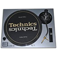 Technics Silver Face Plate for Technics SL-1200 / SL-1210 MK2 Turntables by Quality