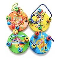 ベビー おもちゃ 子どもたちの早期教育のための創造的な漫画のきのこのパターン巻き上げおもちゃ