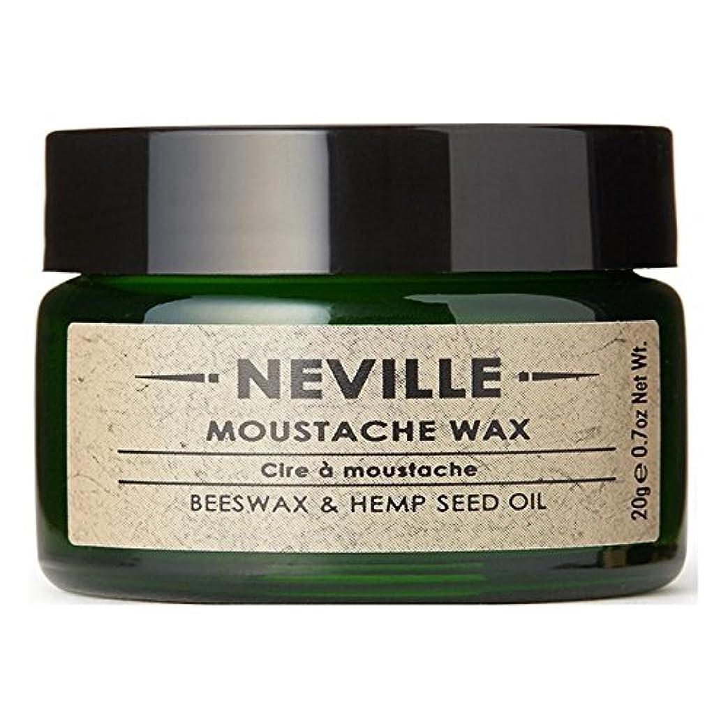 ジュース静けさ調和ネビル口ひげワックス x4 - Neville Moustache Wax (Pack of 4) [並行輸入品]
