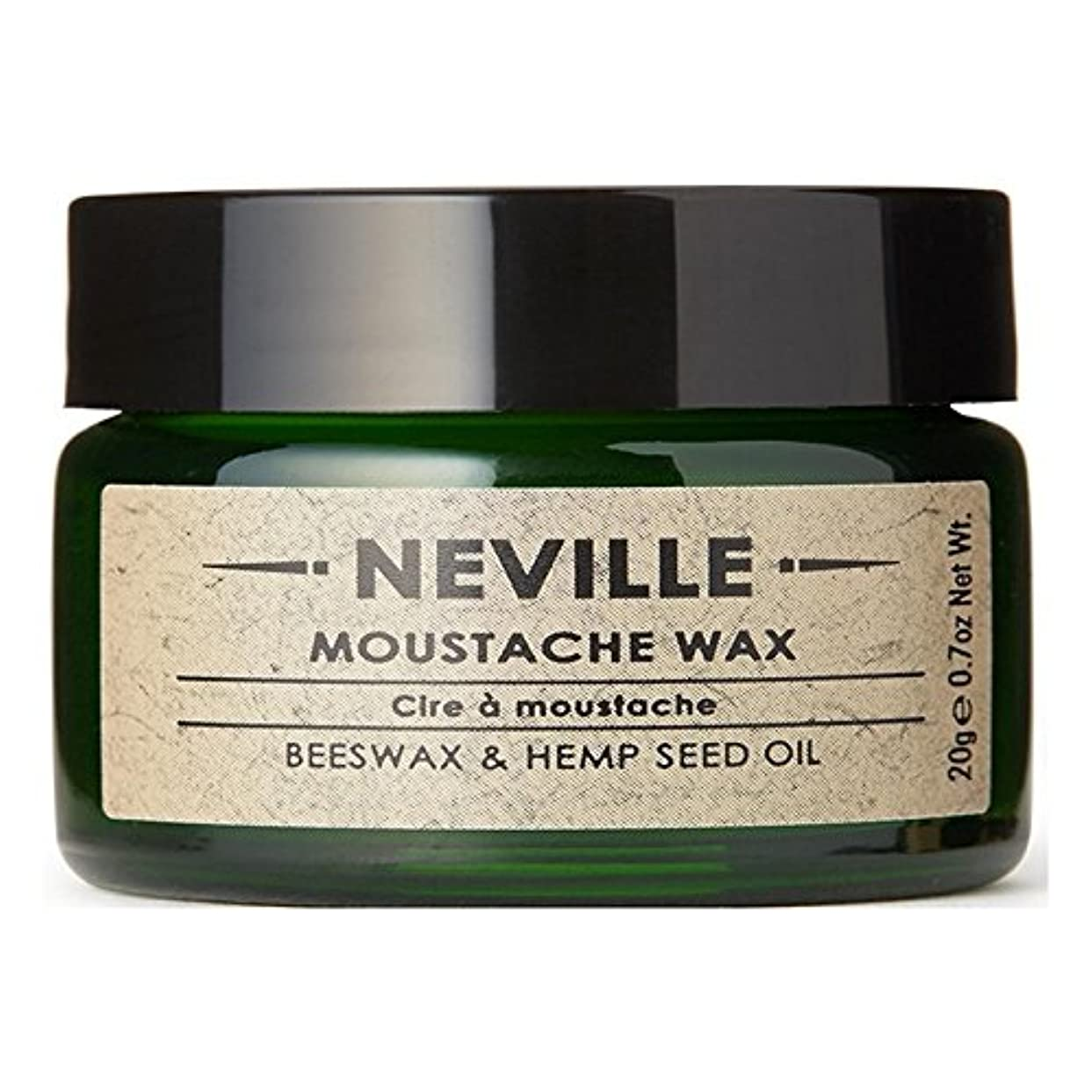 乞食一流同一性ネビル口ひげワックス x2 - Neville Moustache Wax (Pack of 2) [並行輸入品]