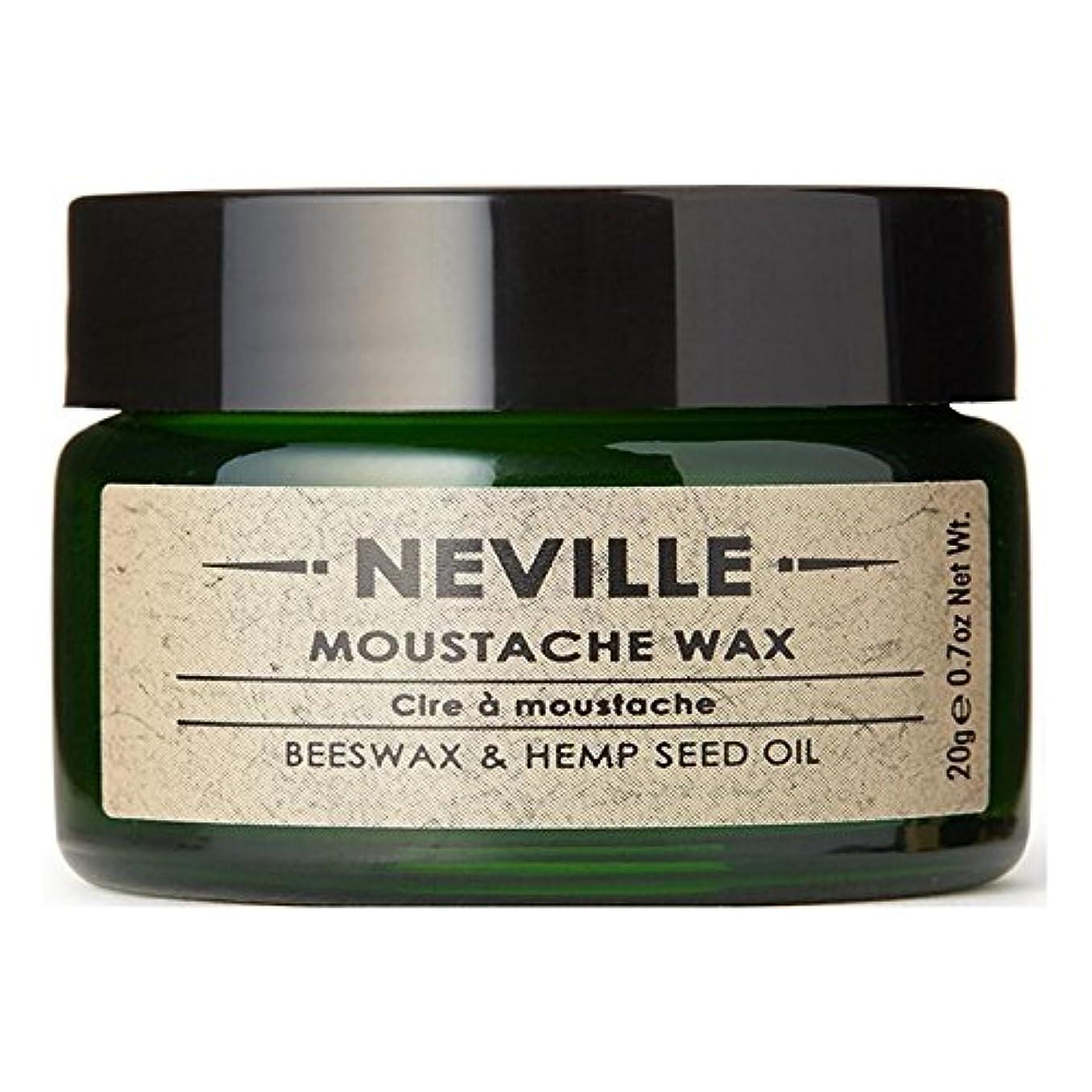 死にかけている静めるマーキーNeville Moustache Wax (Pack of 6) - ネビル口ひげワックス x6 [並行輸入品]