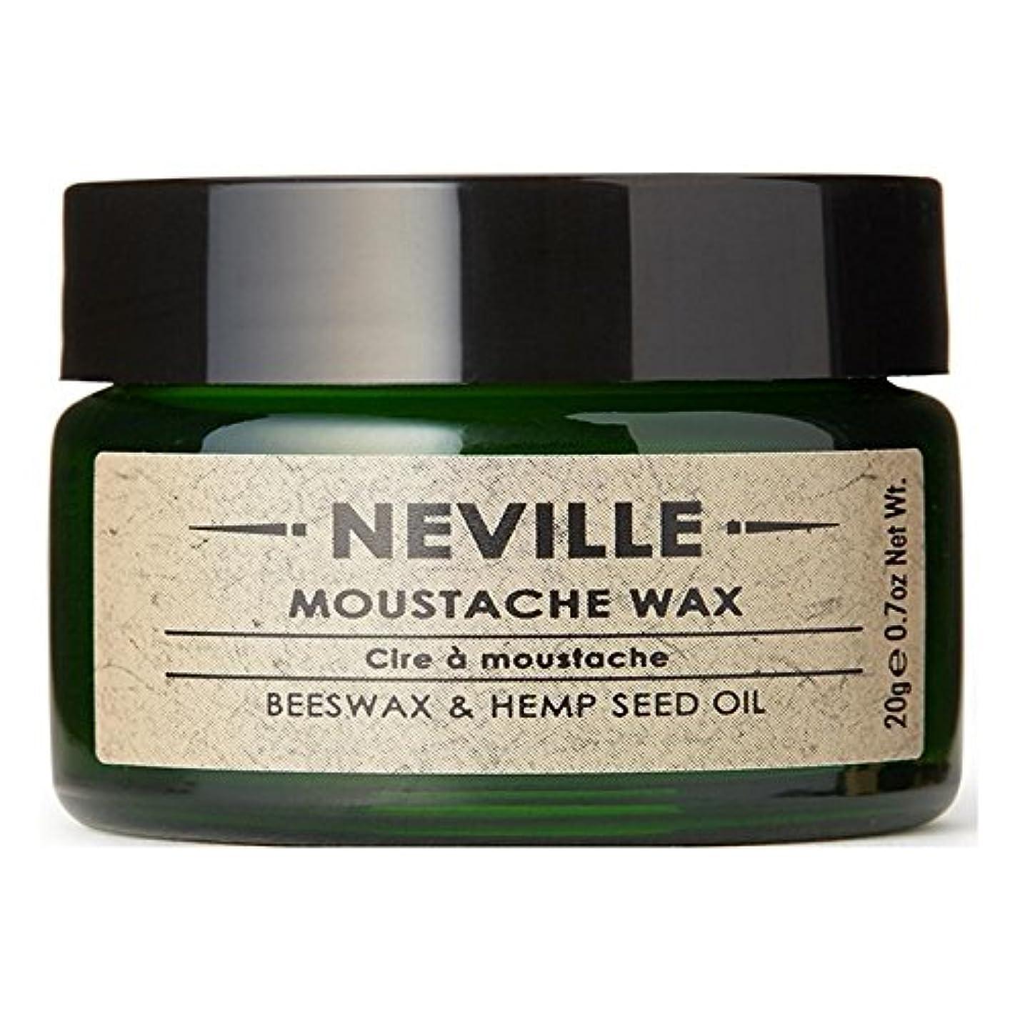 ノイズパズル意気揚々Neville Moustache Wax (Pack of 6) - ネビル口ひげワックス x6 [並行輸入品]