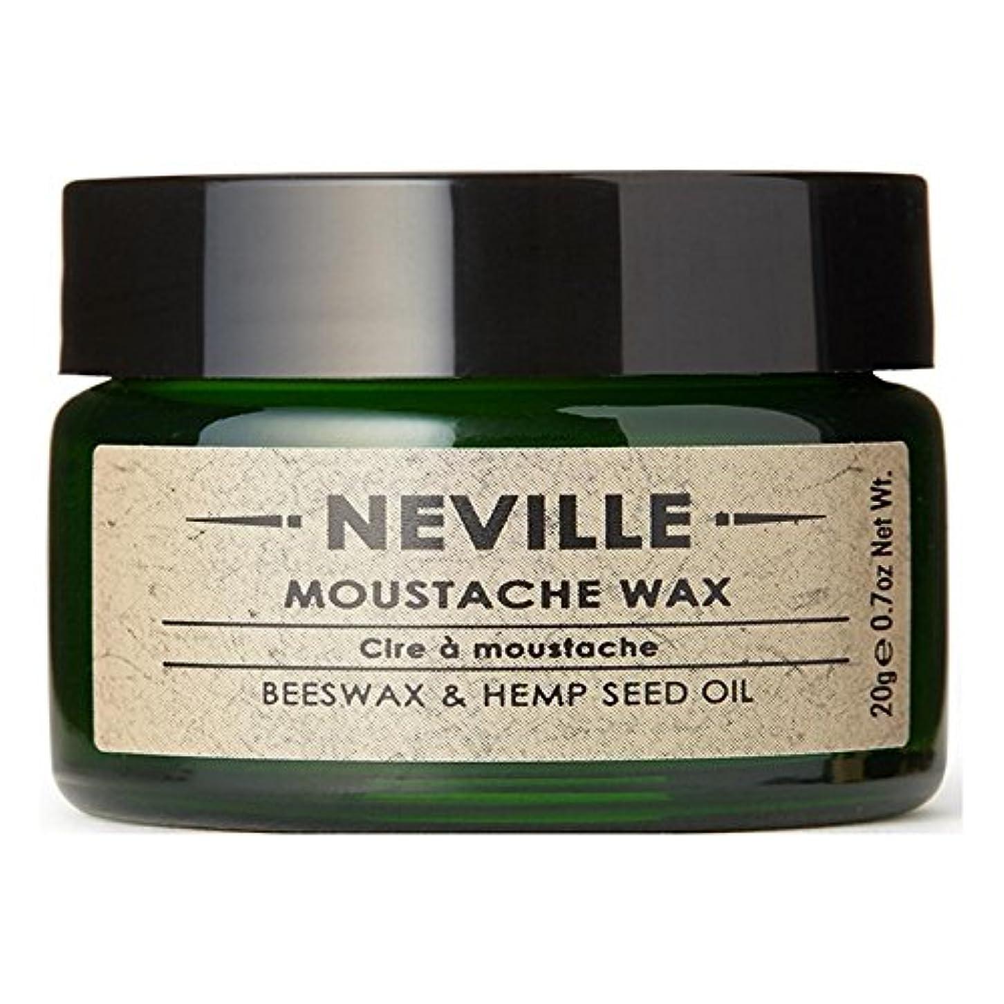 こんにちは穀物デンマークネビル口ひげワックス x4 - Neville Moustache Wax (Pack of 4) [並行輸入品]
