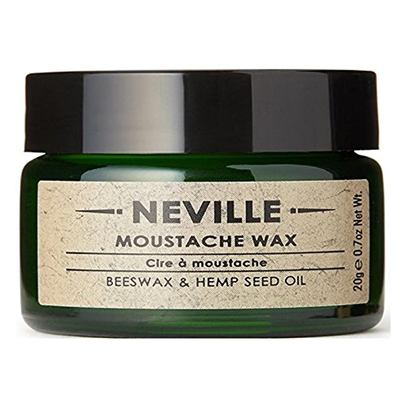 領事館壁教えてネビル口ひげワックス x4 - Neville Moustache Wax (Pack of 4) [並行輸入品]