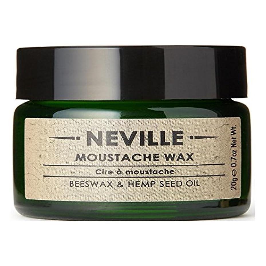 死すべき期待するレベルNeville Moustache Wax - ネビル口ひげワックス [並行輸入品]