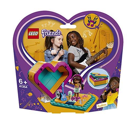 レゴ(LEGO) フレンズ ハートの小物入れ アンドレア 41354