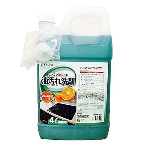 コーナンオリジナル 業務用油汚れ洗剤 4L KOT15-0544