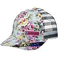 ARIAT Women's Roses Mesh Snap Back Cap, Multi, One Size