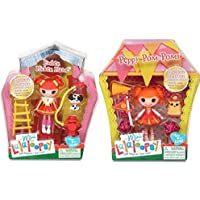 Mini Lalaloopsy Ember Flicker Flame and Peppy Pom Pom 2 Doll Bundle by MGA [並行輸入品]