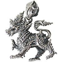 0001PPP/シンハーのペンダント(2)/(メイン)・ライオン・獅子・動物・ネックレス・アジア・タイ・シルバー925(銀)・メンズ・レディース