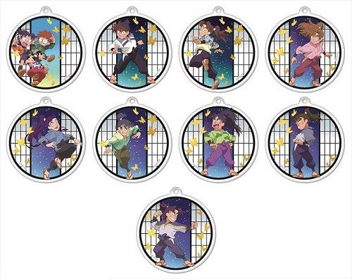 忍たま乱太郎 キラキラアクリルキーチェーンコレクション 第一弾 BOX商品 1BOX = 9個入り、全9種類