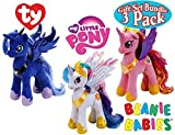 TY Beanie Babies My Little Pony Princess Cadence Princess Luna & Princess Celestia Gift Set Bundle - 3 Pack [並行輸入品]