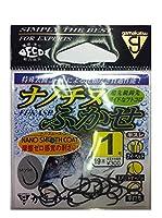がまかつ(Gamakatsu) バラ ナノチヌフカセ フック (ナノスムースコート) 1 釣り針