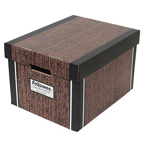 RoomClip商品情報 - フェローズ 収納ボックス バンカーズボックス リバティシリーズ木目 3枚パック72525
