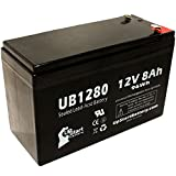 APC SMART-UPS 750 SUA750I 互換バッテリー : APC UB1280 シールド鉛蓄電池 バッテリー対応 (8Ah, 12V, SLA, AGM)
