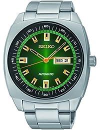 [セイコー]Seiko 腕時計 Analog Display Green Dial Automatic Silver Toned Steel Watch SNKM97 メンズ [並行輸入品]