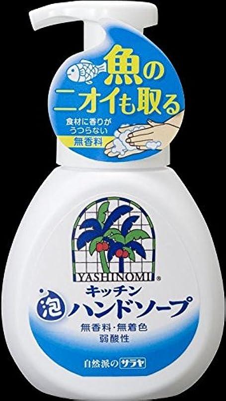 組物理透明にサラヤ ヤシノミ洗剤 キッチン泡ハンドソープ 250ml 無香料、無着色、弱酸性×30点セット (4973512320316)
