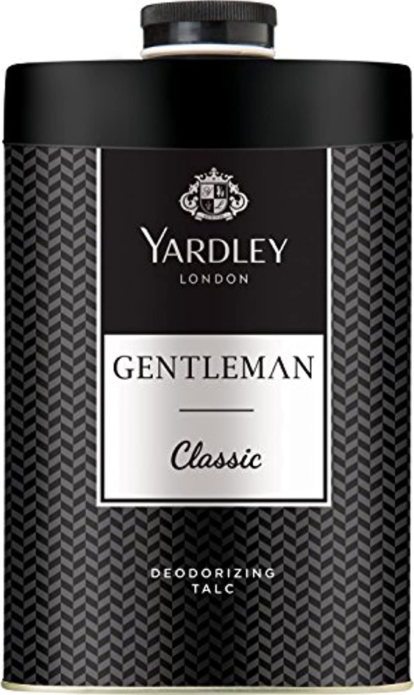 怖い要件仲間、同僚Yardley London Gentleman Deodorizing Talc Talcum Powder For Men 100GmYardley London Gentleman Deodorizing Talc...