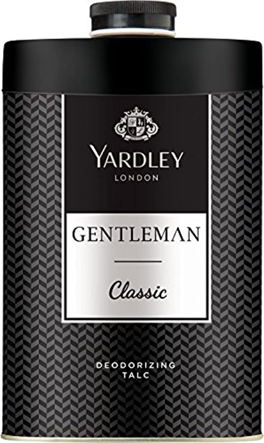 順応性のあるコンバーチブル警告するYardley London Gentleman Deodorizing Talc Talcum Powder For Men 100GmYardley London Gentleman Deodorizing Talc...