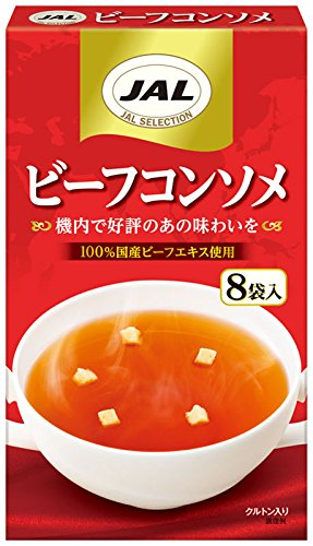 明治 JALスープビーフコンソメ 8袋×5個
