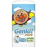 紙おむつ ネピアげんき GENKI パンツ ビッグサイズ 38枚入X3P