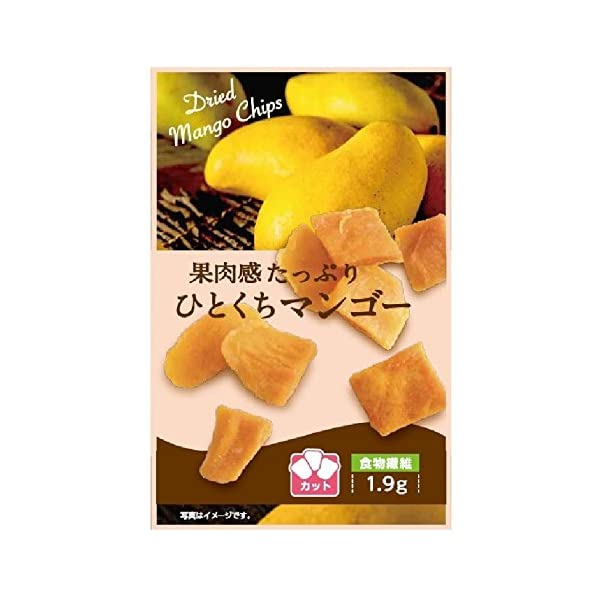壮関 果肉感たっぷりひとくちマンゴー 31g×6個の商品画像