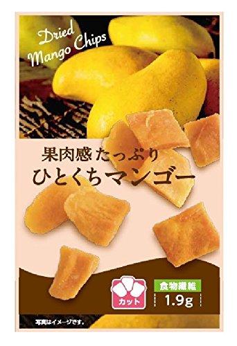 壮関 果肉感たっぷりひとくちマンゴー 31g ×6個
