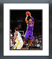 Phoenix Suns Grant Hill 2012アクションFramed画像8x 10