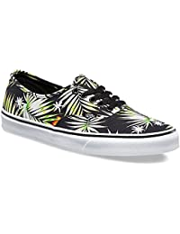【VANS】AUTHENTIC DECAY PALMS BLACK TRUE WHITE オーセンティック バンズ