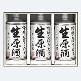 鳴門鯛 生缶 3本組【蔵元直送ギフト】本家松浦酒造