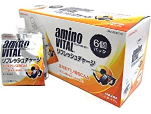 アミノバイタル ゼリードリンク リフレッシュチャージ 180gX6個