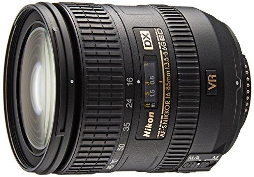 Nikon 標準ズームレンズ AF-S DX NIKKOR 16-85mm f/3.5-5.6G ED VR ニコンDXフォーマット専用