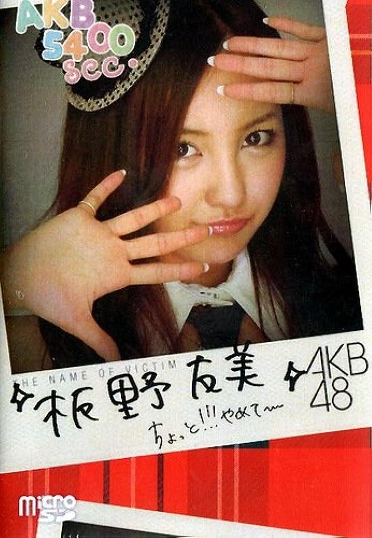 最大化する事務所自治AKB48 5400sec.microSD VOL.1:板野友美