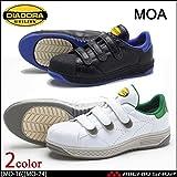 ディアドラ 安全靴 モア MOA セーフティスニーカー MO-16 MO-24Color:ホワイトグリーン[MO-16]