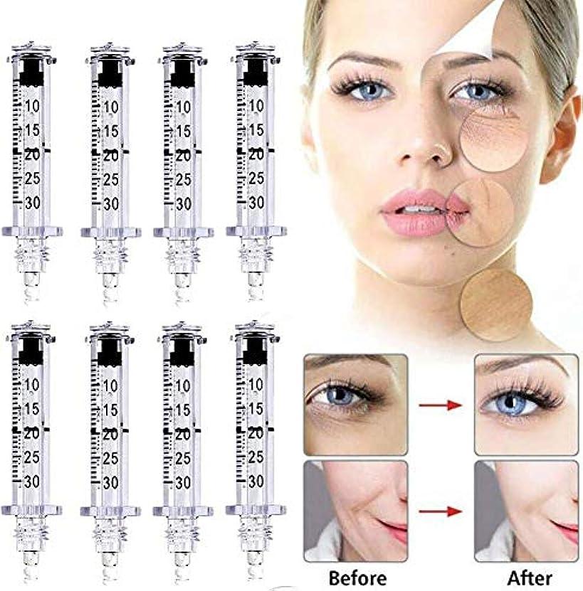混乱させる方法論多用途50セットシリンジアンプルヘッド ヒアルロン注射ペン用高圧しわの除去水シリンジアトマイザーヒアルロンペンアクセサリーの美しさ