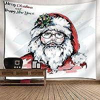 GLYY クリスマス タペストリー 装飾壁掛けタペストリー 150*230 CM 間仕切り おしゃれ インテリア 寝室 カーテン 多用途 マルチカバー タペストリー テーブルクロス 大サイズ A7
