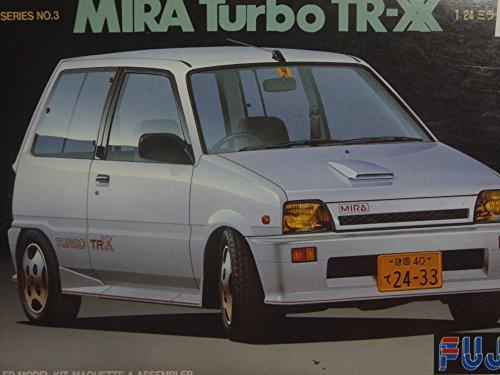フジミ模型 1/24 K カーシリーズ Kカー3 ダイハツ ミラターボTR-XX'87