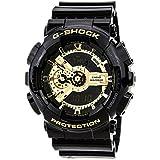 [カシオ]CASIO 腕時計 G-SHOCK Gショック Black×Gold Series ブラック×ゴールドシリーズ GA-110GB-1A メンズ [並行輸入品]