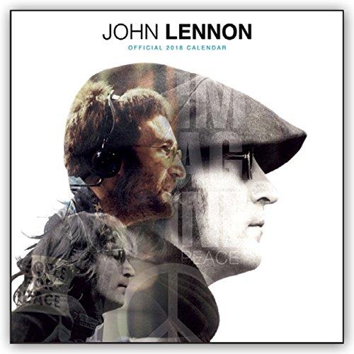 John Lennon 2018 - 18-Monatskalender: Original BrownTrout-Kalender