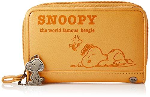 [スヌーピー] 二つ折り財布 SNP-532 BR イエロー...