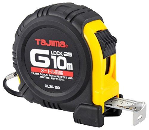 タジマ Gロック-25 10m 25mm幅 メートル目盛 GL25100BL